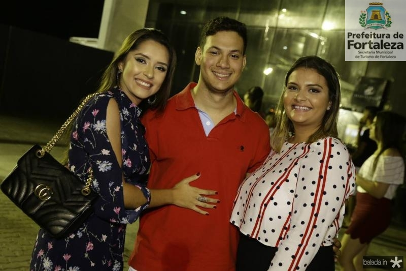 Vanessa Ferreira, Andrew Silva e Yasmin Girao