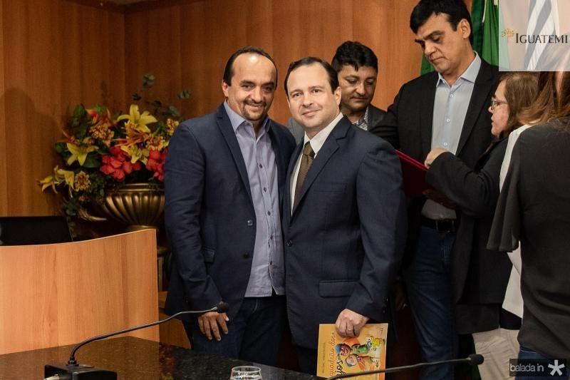 Eneias Goes e Igor Queiroz Barroso