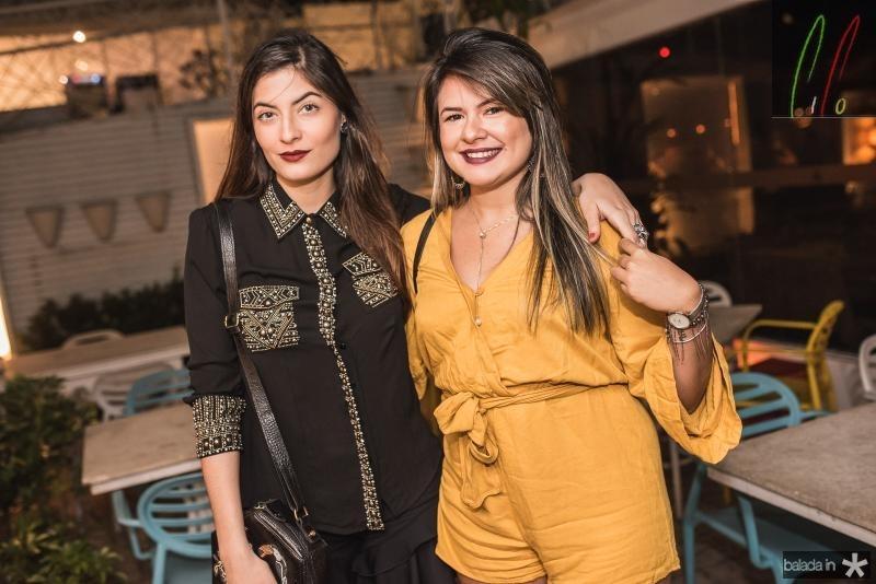 Tatiana Soares e Camila Bezerra