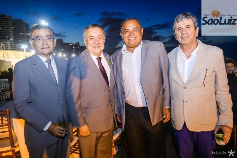 Suetonio Mota, Adauto Bezerra, Teodoro Santos e Marcio Tavora