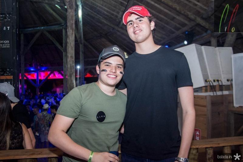Carlos Henrique Juaçaba e Matheus Canamary