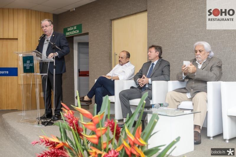 Ricardo Cavalcante, Honorio Pinheiro, Mauricio Filizola e Joaquim Cartaxo