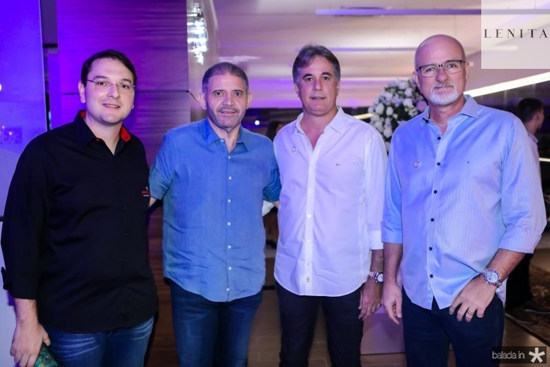 Rafael Santos, Andre Rocha, Marcos Pessoa e Alessandro Abreu