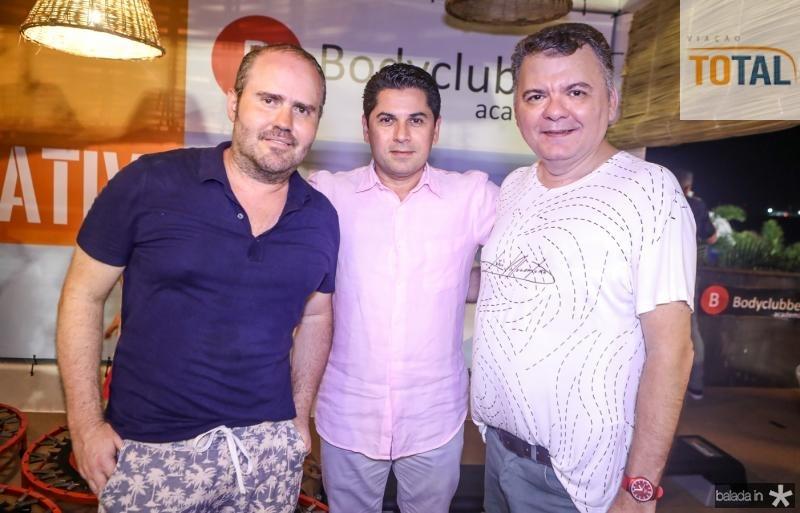 Roberto Pamplona, Pompeu Vasconcelos e Omar Albuquerque