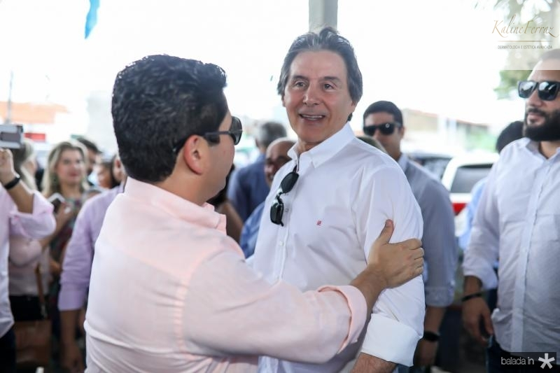 Pompeu Vasconcelos e Eunicio Oliveira