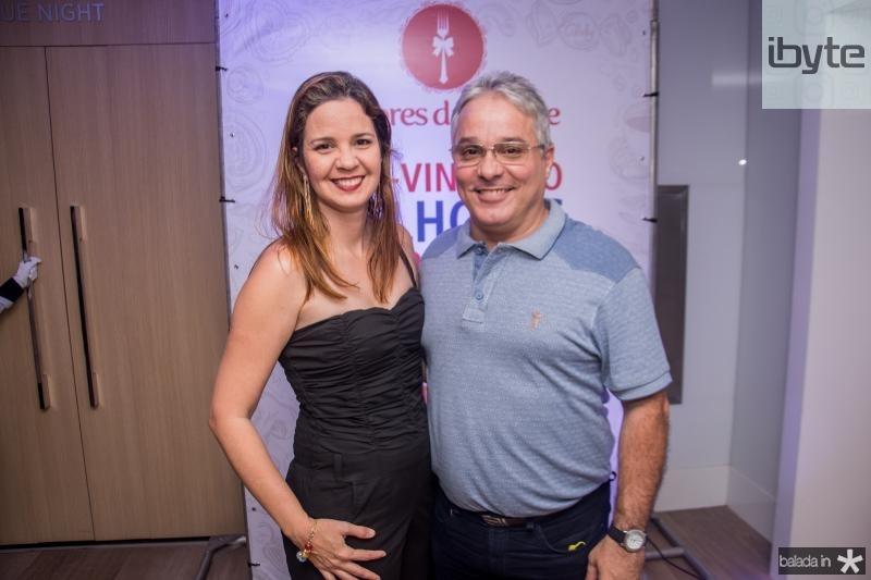 Michele Albuquerque e Jorge Carvalho