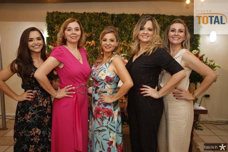 Fernanda Angelim, Conceicao Marques, Simone Cardoso, Mychele Sampaio e Alexsandra Macedo