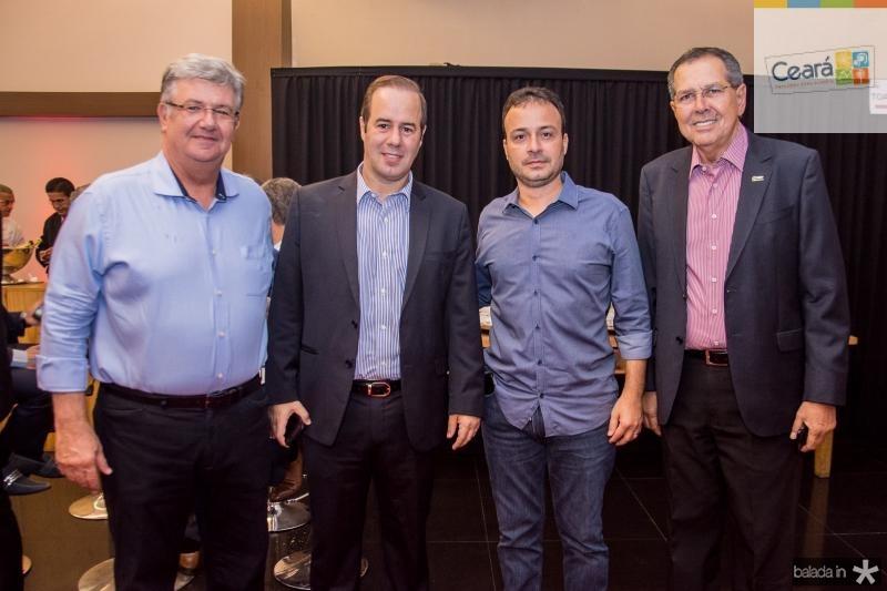 Carlos Maia, Cesar Ribeiro, Danilo Serpa e Ricardo Parente