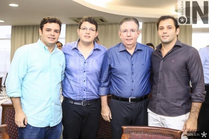 Augusto Pinh, Vitor, Ricardo e Ricardo Cavalcante  Filho