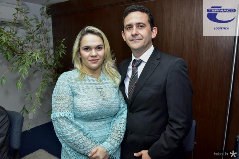 Ilana Sanatiago e Fabricio Menezes