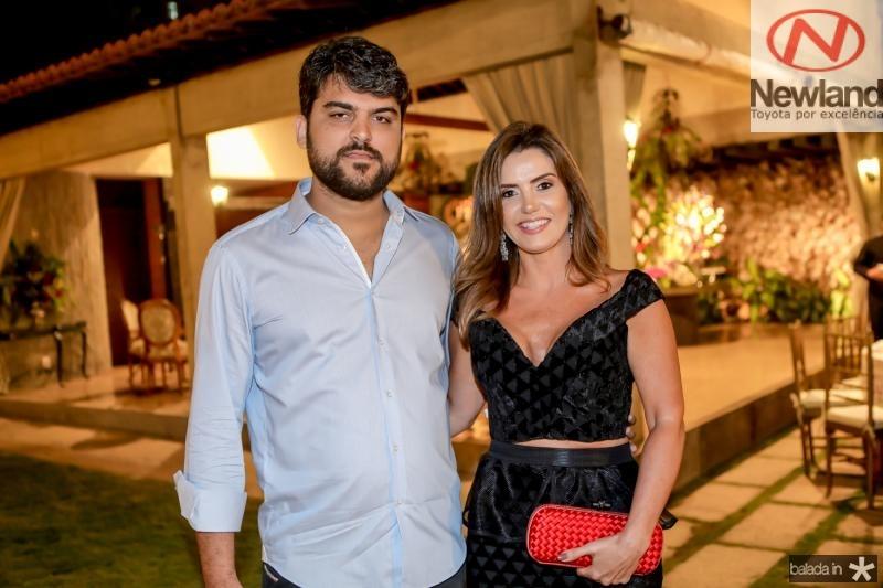 Neto Almeida e Patricia Nogueira