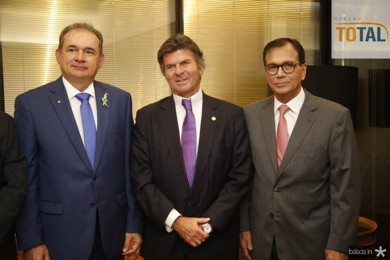 Washington Araujo, Luiz Fux e Beto Studart