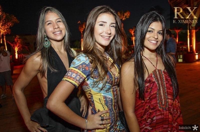 Andrea Aquino, Carolina Stocklow e Renata Maia