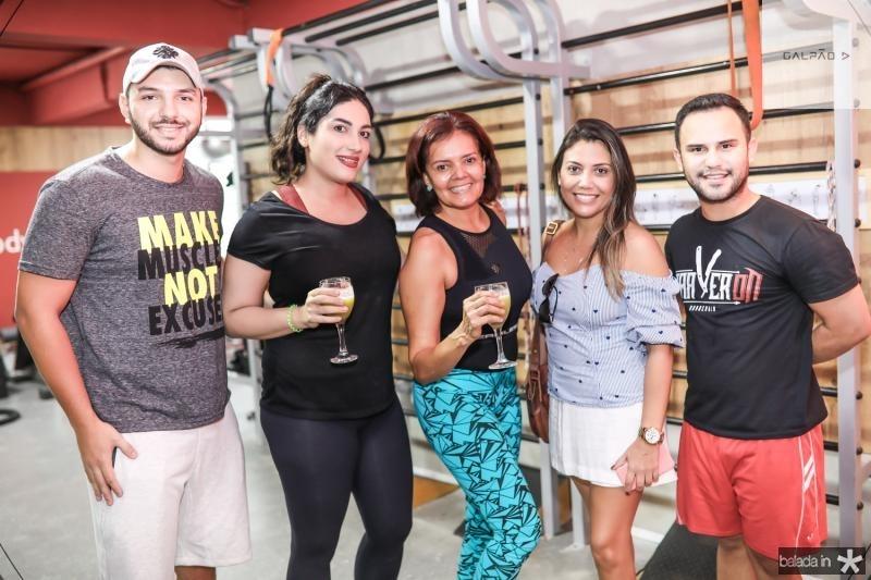 Avila Agrela, Roberta Vasconcelos, Marri Ana, Paula Cabral e Igor Ribeiro