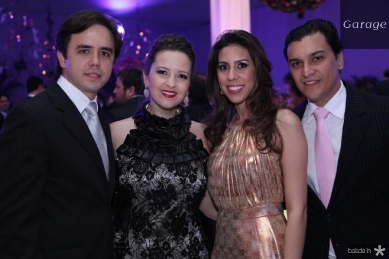 Philomeno Neto e Naiana Philomeno, Lara Studart e Helano Nogueira