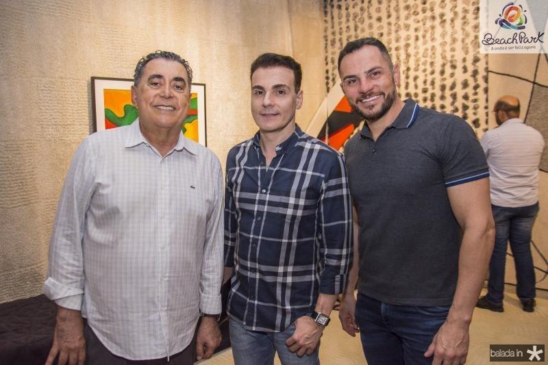 Adroaldo Carneiro, Rodrigo Maia e Eneldo Peixoto