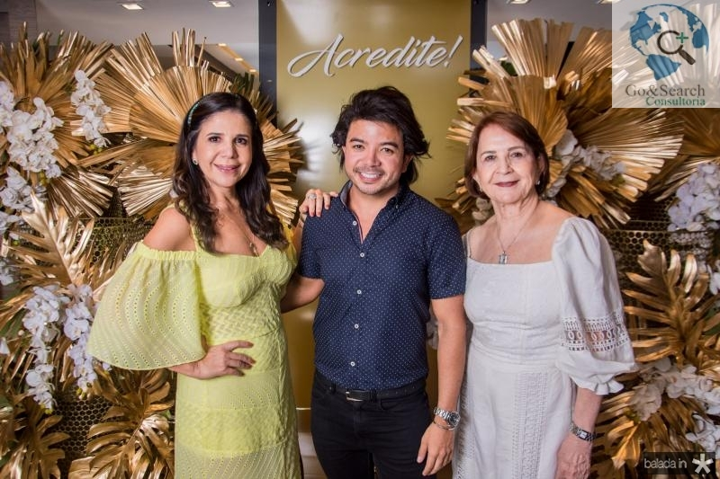 Maria Lucia Negrao, Rafael Gualberto e Lenita Negrao