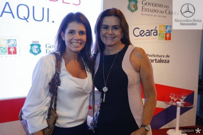 Claudia Diniz e Ivana Bezerra