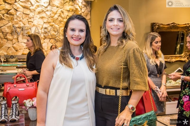 Carol Damiano e Tais Pinto