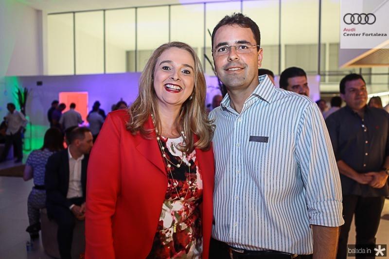 Helena Demes e Silvio Uchoa