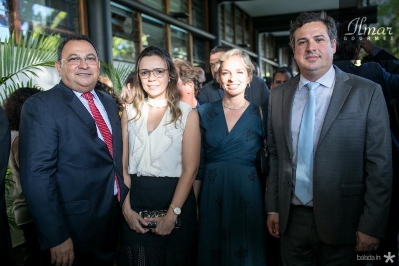 Moacir Maia, Andrea Freitas, Paola Braga e Samuel Dias