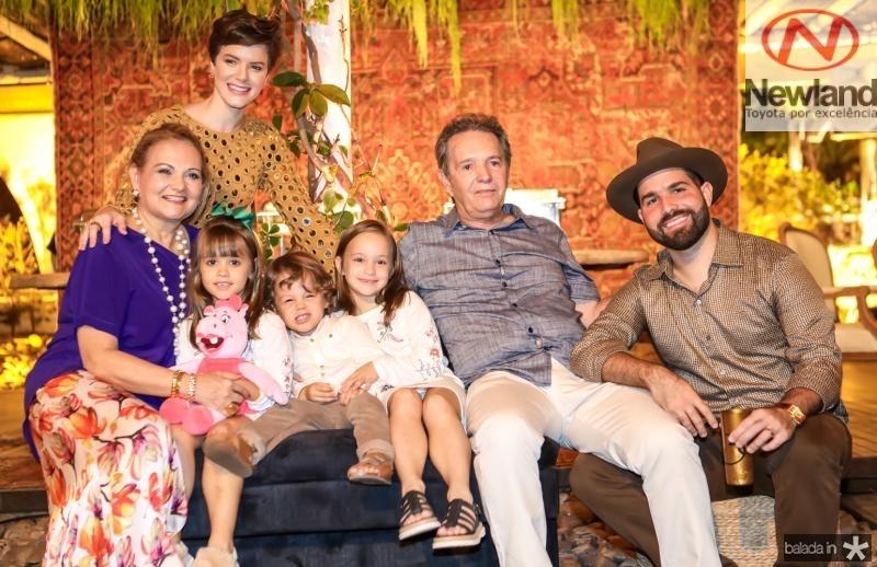 Lenise, Paulinha, Elizabeth, Bento, Yolanda, Claudio e Felipe Rocha