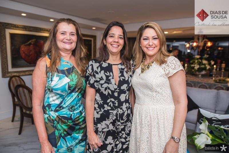 Fatima Moraes, Janine Acioly e Rachel Philomeno