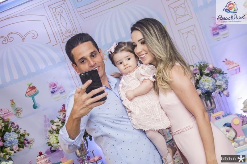 Rafael, Sara e Liana Sa