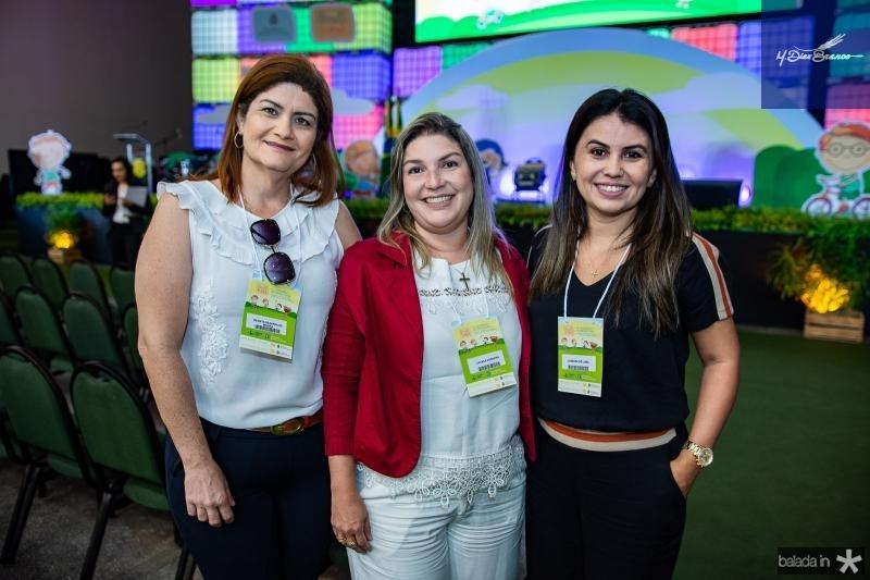Renata Bezerra, Luciana Sobreira e Jussara de Luma