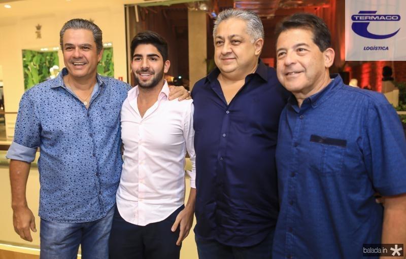 Vicente de Castro, Deib Neto, Adriano Pinto e Deib Otoch
