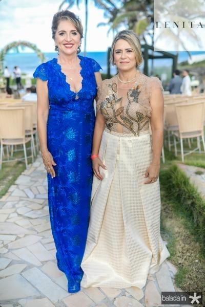 Conceiçao Lobo e Valdira Silva
