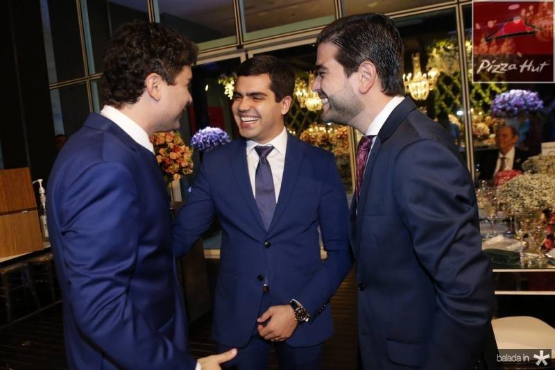 Igor Linhares, Pedro Garcia e Stenio Suleiman