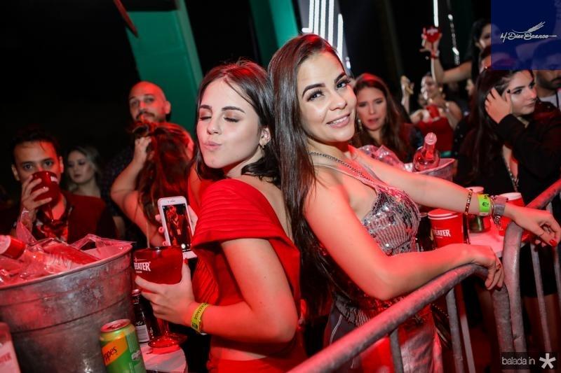Lara Idelfonso e Tais Moura