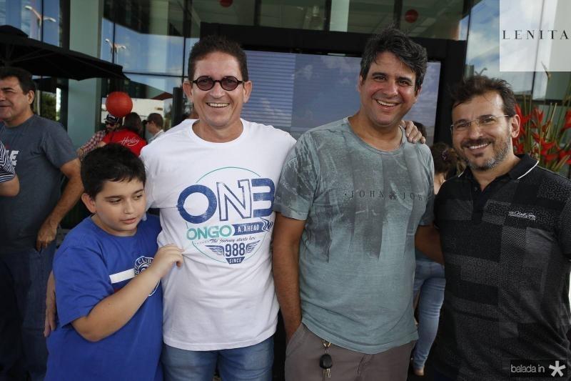 Tiago e Alexandre Peixoto, Eugenio Coutinho e Renato Pereira