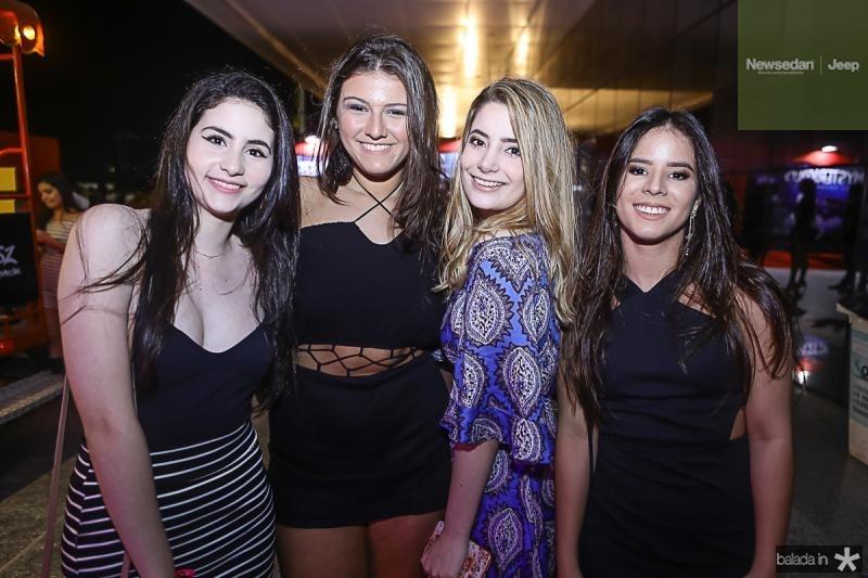 Natasha Timbo, Beatriz Barros, Luma Nogueira e Giovana Ramos