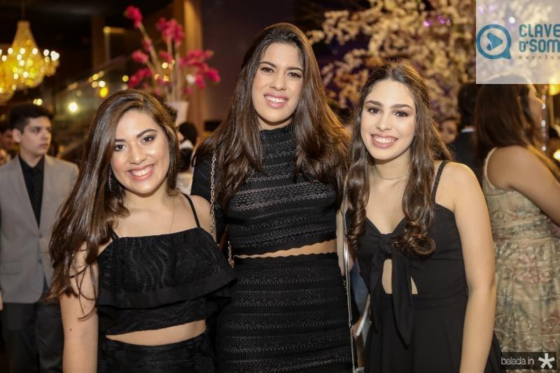 Isabella Bandeira, Lilia Ximenes e Marcela Arruda