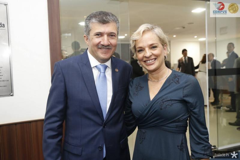 Antonio Henrique e Paola Braga