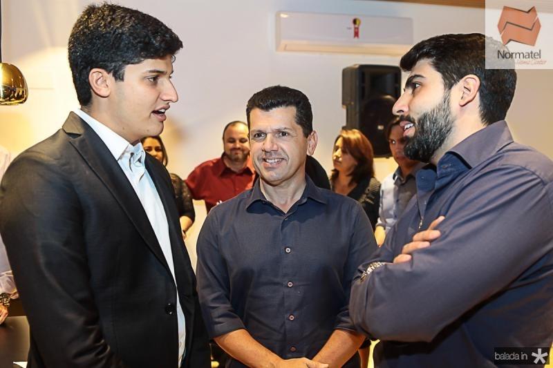 Gercino Coelho Filho, Erick Vasconcelos e Joao Franca