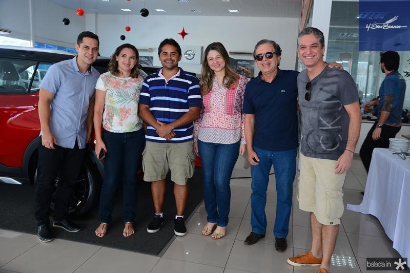 Robson Correia, Alfredo Savio, Cassia Pires, Francisco Monteiro, Rogerio Scarabel