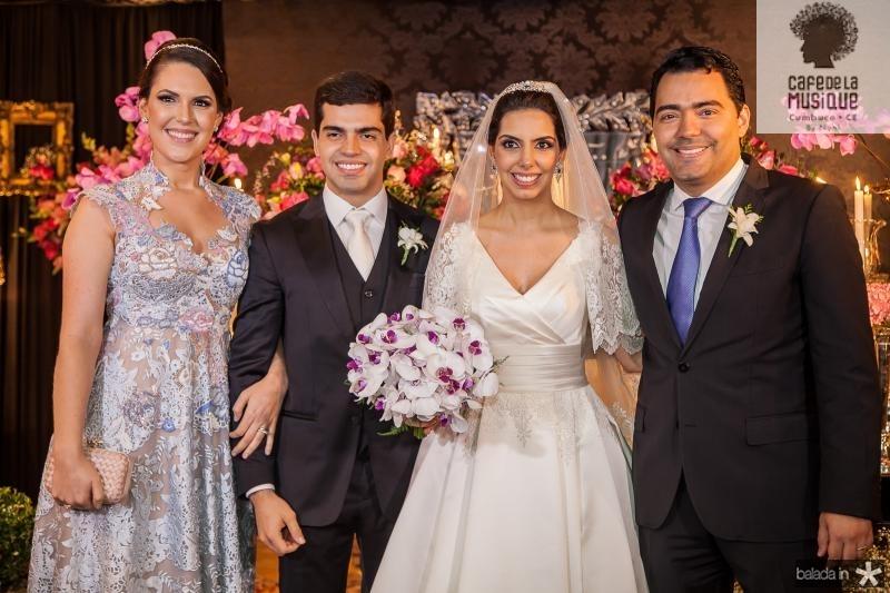 Larissa Laprovitera, Pedro e Carla Garcia, Andre Laprovitera
