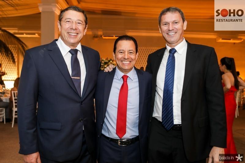 Alexandre Sleiman, Rogerio Lima e Wanderley Melo