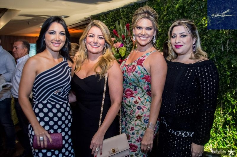 Danielle Linheiro, Tatiana Luna, Pauliani Campos e Manu Romcy