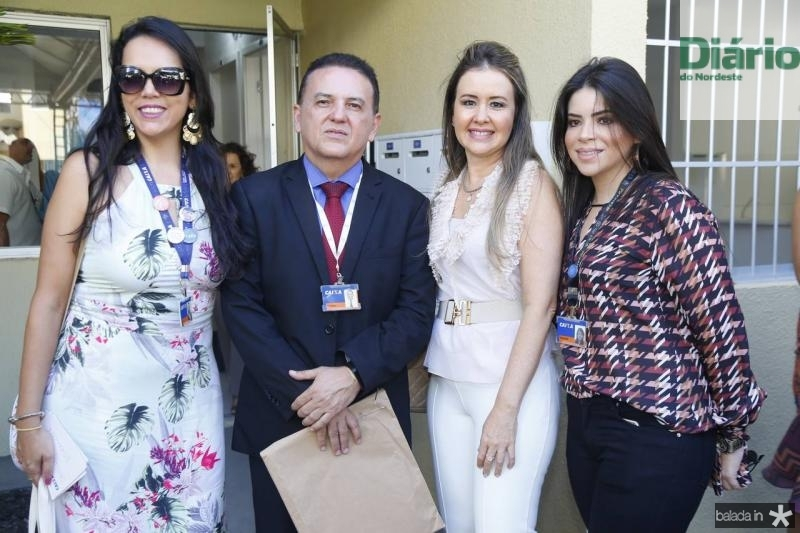 Clara Pinheiro, Josivan Josino, Liana Fujita e Isabela Sancho