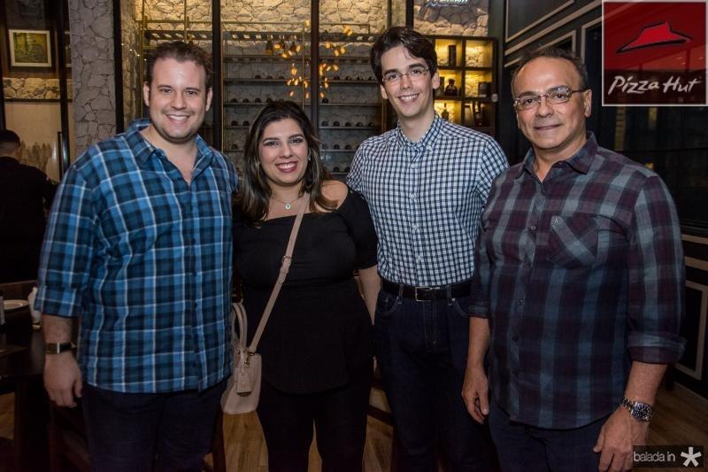 Joao Victor Maia, Ticiana Quimaraes, Nicolas Mororo e Anselmo Mororo
