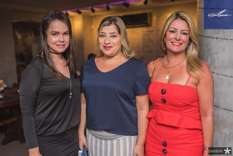 Roberta Castro, Manu Romcy e Tatiana Luna