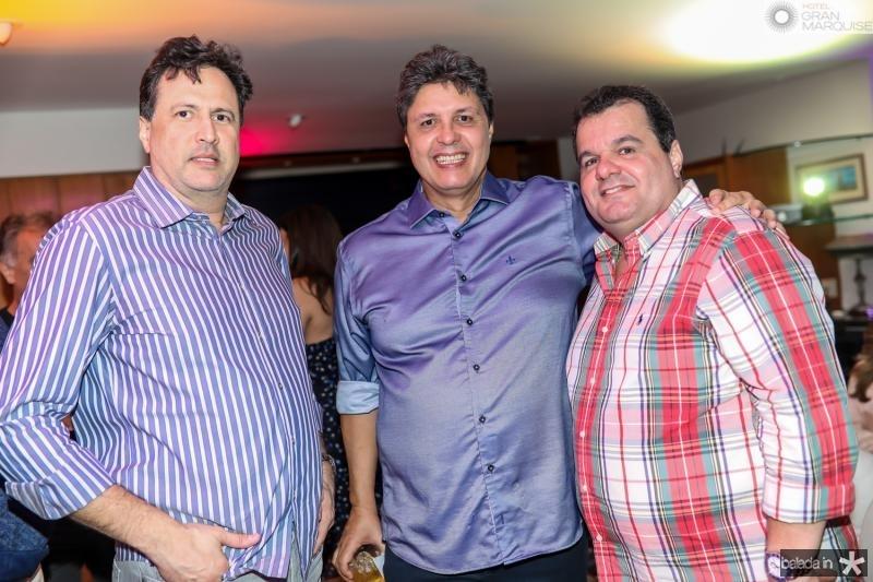 Ricardo Lopes, Marcos Oliveira e Rene Freire