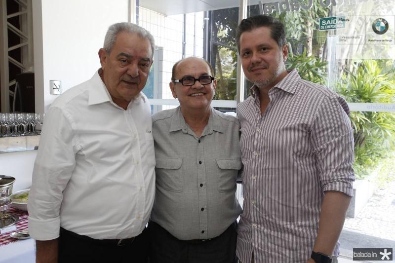 Adail Fontenele, Airton Boris e Livio Parente