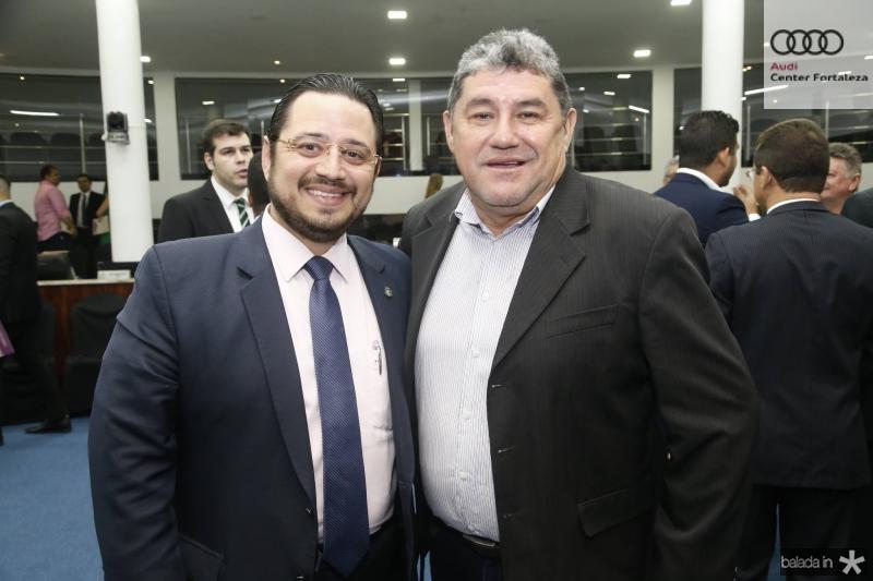 Ricardo Valente e Francisco Xavier