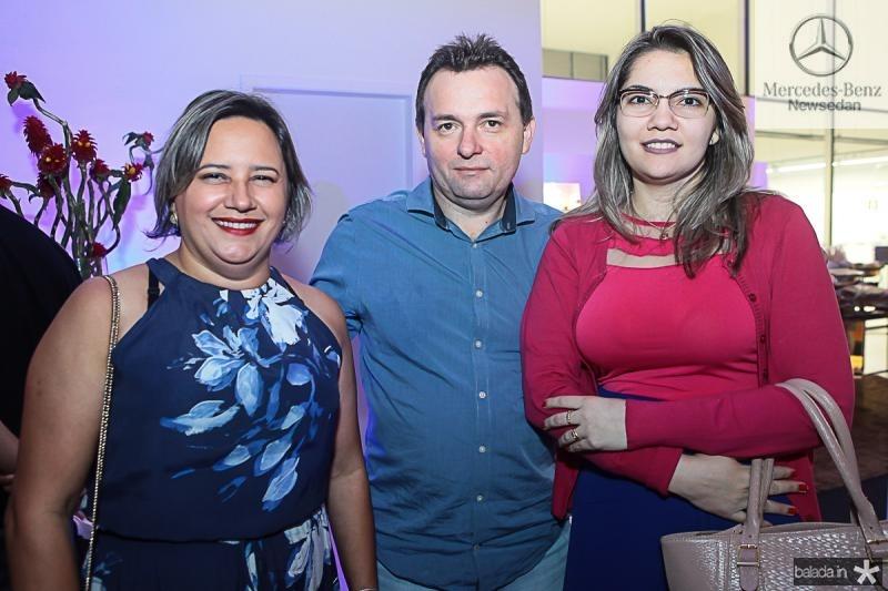 Clea Cavalcante, Eduardo Bezerra e Paloma Lucena