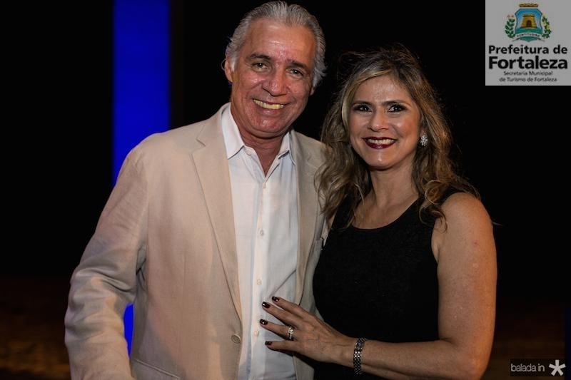 Osvaldo Studart e Lola Pimentel
